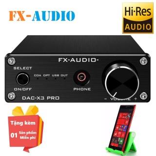 ( Tặng kèm miễn phí Giá đỡ điện thoại hình ghế nhiều màu ) DAC giải mã âm thanh FX-AUDIO X3 Pro - Bộ giải mã âm thanh FX AUDIO X3 Pro - Đầu DAC giải mã âm thanh FX-AUDIO-X3 Pro 24Bit 192Khz thumbnail