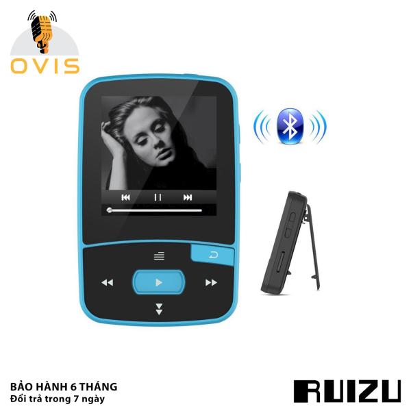 [BH 1 ĐỔI 1] Máy Nghe Nhạc Thể Thao Ruizu X50 Kết Nối Bluetooth 4.0 (Tặng Tai Nghe)