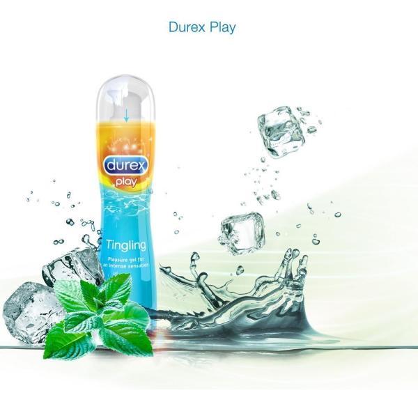 Gel bôi trơn Durex play Tingling 100ml - Mát lạnh thăng hoa cảm xúc giá rẻ