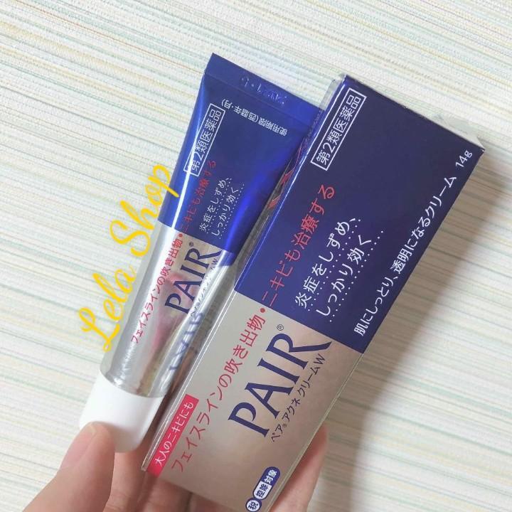 Pair Acne W Cream 14g Nhật Bản nhập khẩu