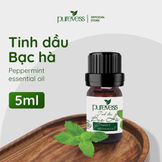 Tinh dầu Bạc Hà Purevess giúp thơm phòng và thông thoáng, giảm đau đầu, giảm căng thẳng, thư giãn, đuổi chuột. Peppermint Essential Oil. thumbnail