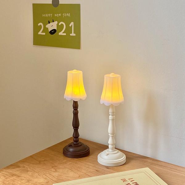 ins style retro mini night light desktop decoration ornaments student dormitory bedroom led desk lamp bedside lamp