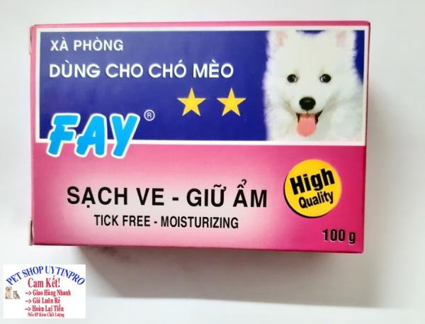 XÀ PHÒNG TẮM CHO THÚ CƯNG CHÓ MÈO Fay 2 Sao Sạch ve Giữ ẩm Sản xuất tại Việt Nam