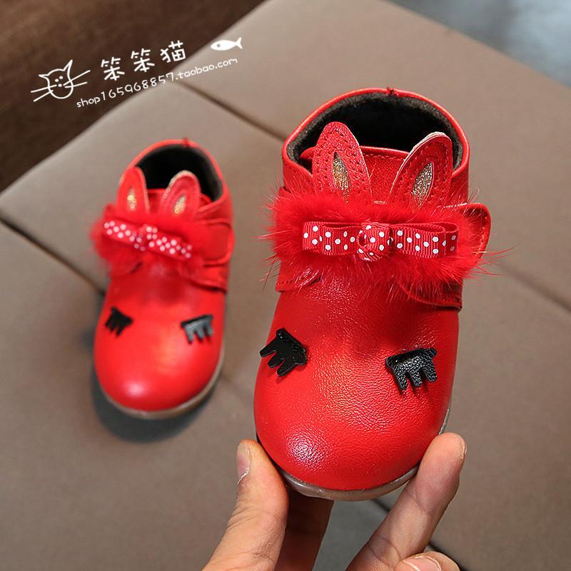 Anak-anak musim gugur dan dingin model baru sepatu kulit kecil 2019 Gaya  Korea anak 3cc500dbd3