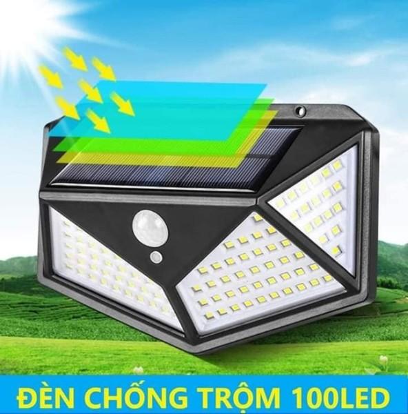 Bảng giá Bóng đèn năng lượng mặt trời-Đèn Cảm Biến Hấp Thụ Năng Lượng Mặt Trời 100 Bóng Led Siêu Sáng chống chộm