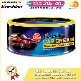 Kem đánh bóng sơn xe ô tô (Car Cream) Karshine 250g KA-CC250 - Tốc Độ 247, Phục hồi độ sống xe hơi, bảo dưỡng nước sơn tối ưu thumbnail