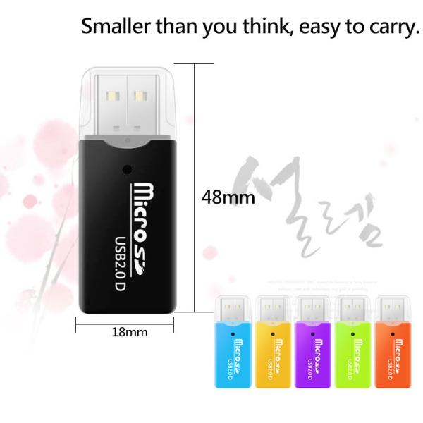 Bảng giá Portable Mini Usb 20 Reader Supports Tf Sd Mobile Memory Card Pc Laptops Mini Portable USB 2.0 TF Micro SD Memory Card Reader for PC Laptop Computer Phong Vũ