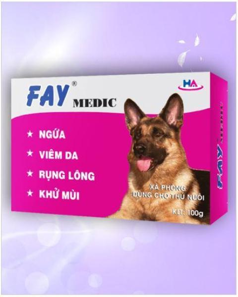 Xà Bông ASA FAY Medic 100g cho thú cưng