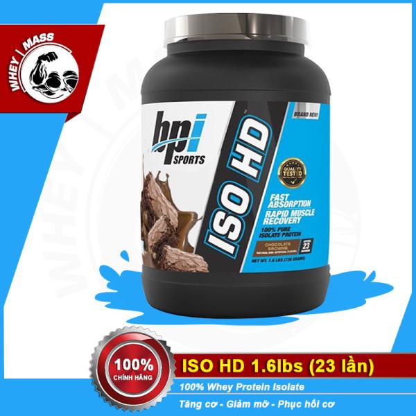 Sữa Tăng Cơ Bắp 100% whey Isolate Iso HD 1.6 Lbs | Bpi Bpisports