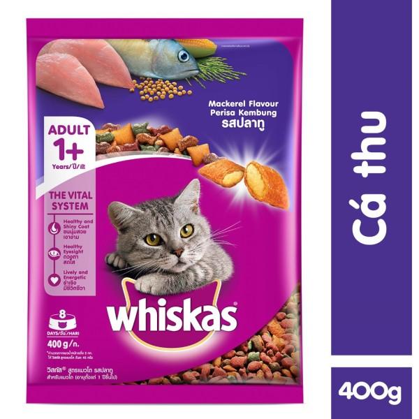 Thức ăn mèo Whiskas dành cho mèo lớn túi 1.2kg