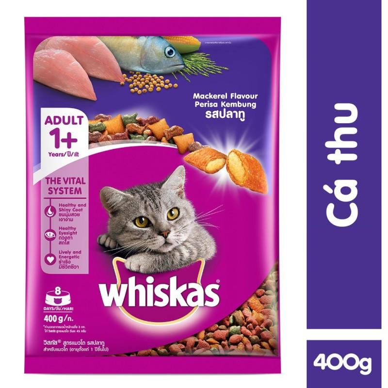 Thức ăn cho mèo Whiskas túi 400g