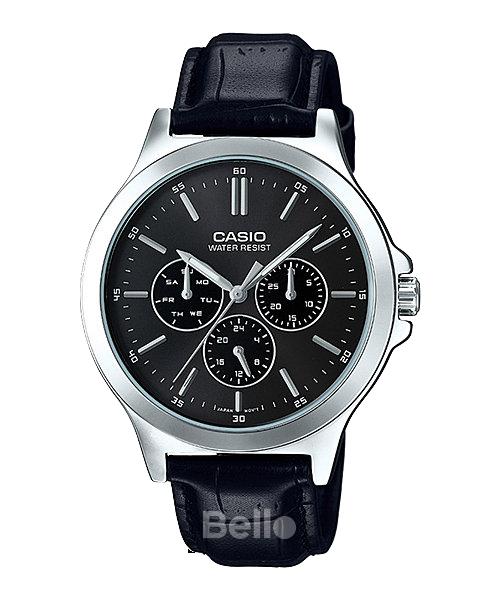 Đồng hồ Casio Nam MTP-V300L-1AUDF bảo hành chính hãng 1 năm - Pin trọn đời
