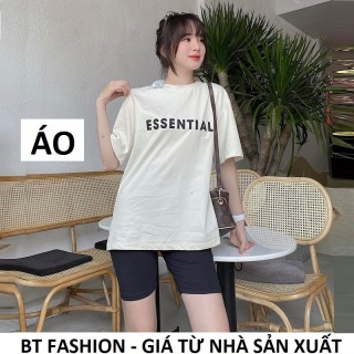 Áo Thun Nữ Coton Phom Rộng Thời Trang - BT Fashion + Video, Hình Thật (XH02) Chọn thêm quần bên dưới để phối đồ thumbnail