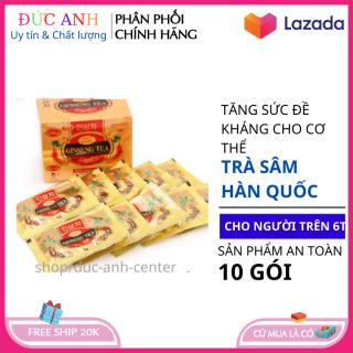 Trà sâm cao cấp tăng cường sức đề kháng bồi bổ sức khỏe cho cơ thể hộp 10 gói x 3 gam HSD 2023 coco shop hn thumbnail