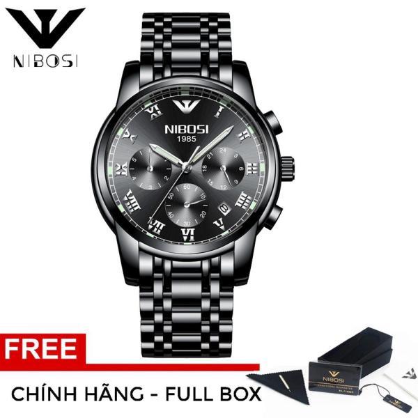 XPLUS - Đồng hồ nam NIBOSI dây thép lịch ngày thời thượng - Đẳng cấp doanh nhân MDL-NB2301 bán chạy