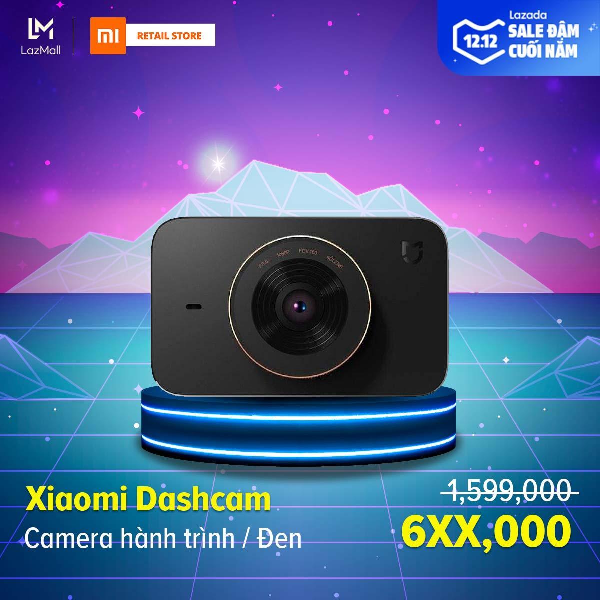 Deal Ưu Đãi [HÀNG CHÍNH HÃNG - BẢO HÀNH 12 THÁNG] Camera Hành Trình Xiaomi Dashcam - Kết Nối Wifi, Bluetooth 4.0 - Hỗ Trợ Thẻ Nhớ Tối đa 32GB - Ống Kính Góc Quay Rộng 160 độ
