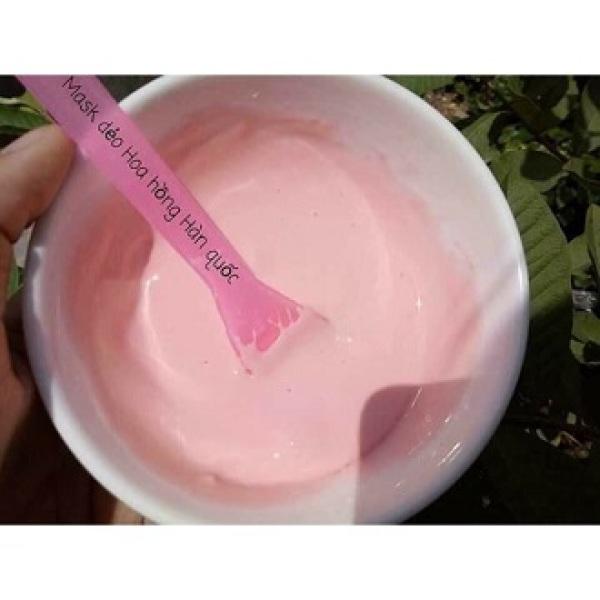 100g bột mask dẻo hoa hồng-trắng sáng da 100g nhập khẩu