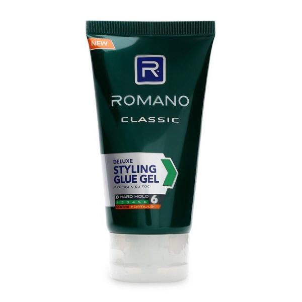 Gel vuốt tóc Romano Classic Siêu cứng 150g