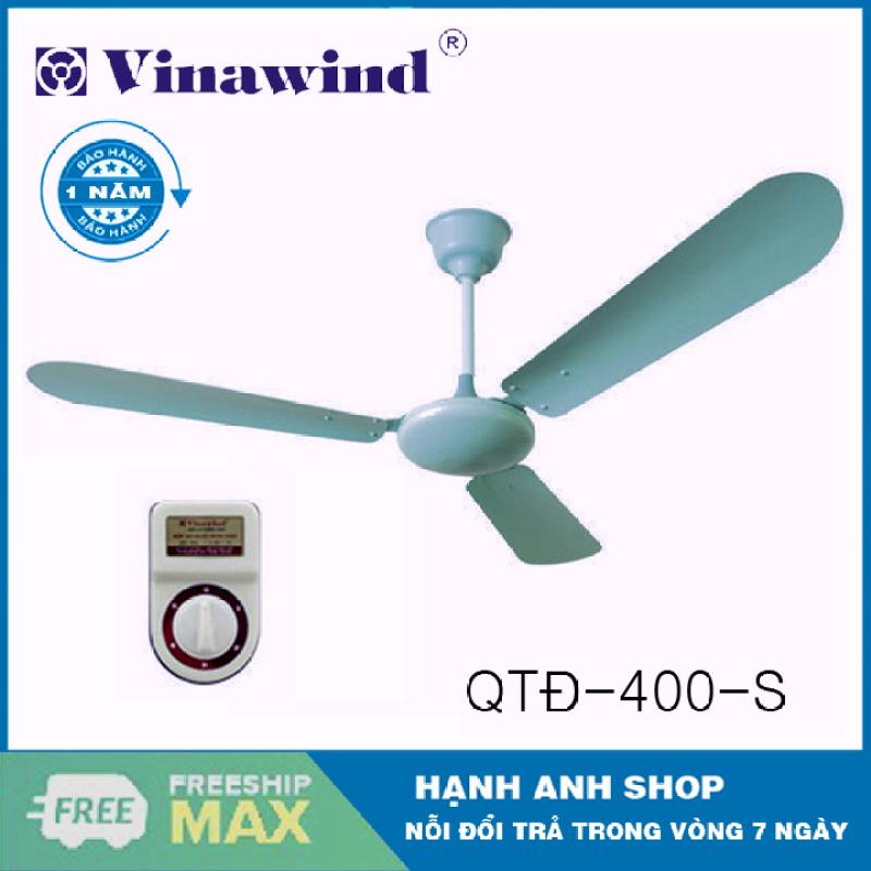 [ Hàng Chính Hãng ] Quạt trần Vinawind QT140 - 5 tốc độ gió - Bảo Hành 12 Tháng