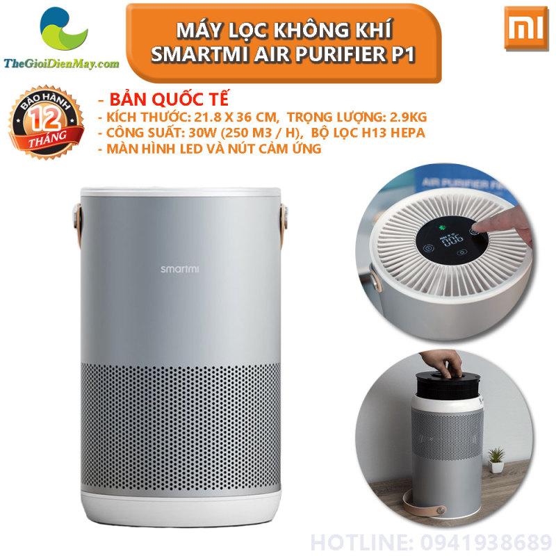 [Bản quốc tế] Máy lọc không khí Xiaomi Smartmi Air Purifier P1 - Bảo hành 12 tháng - Shop Thế Giới Điện Máy