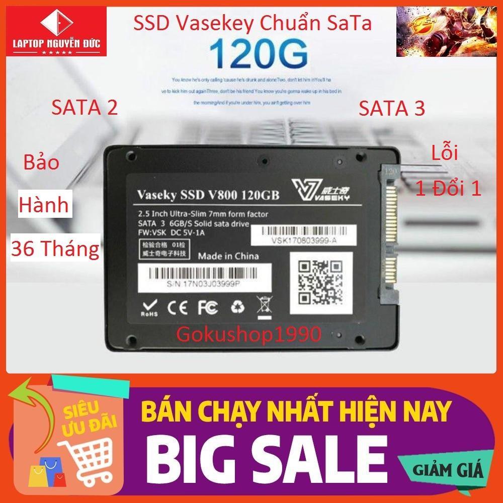 Giá Ổ Cứng Vaekey-V800 120gb SSD chuẩn 2.5 Sata 3 - Hàng Mới Bảo Hành 3 năm