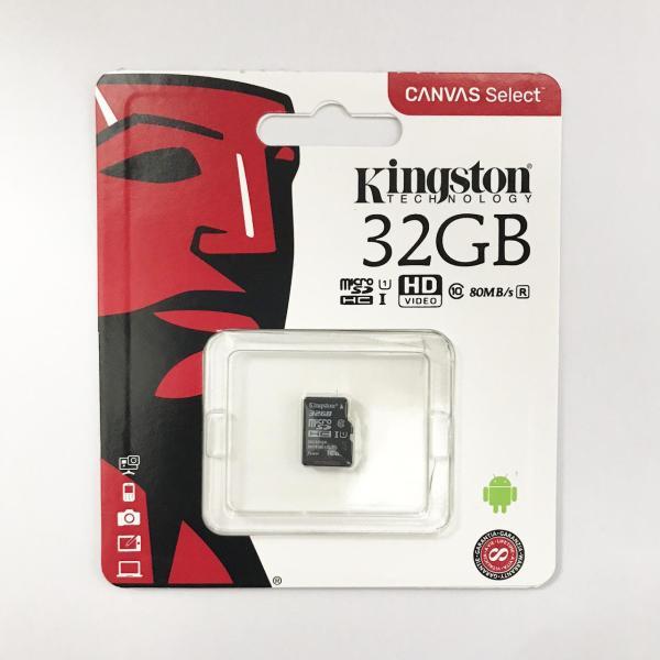 Thẻ nhớ micro SD kingston 32GB class 10 - P.Phối bởi FTT/Vĩnh xuân