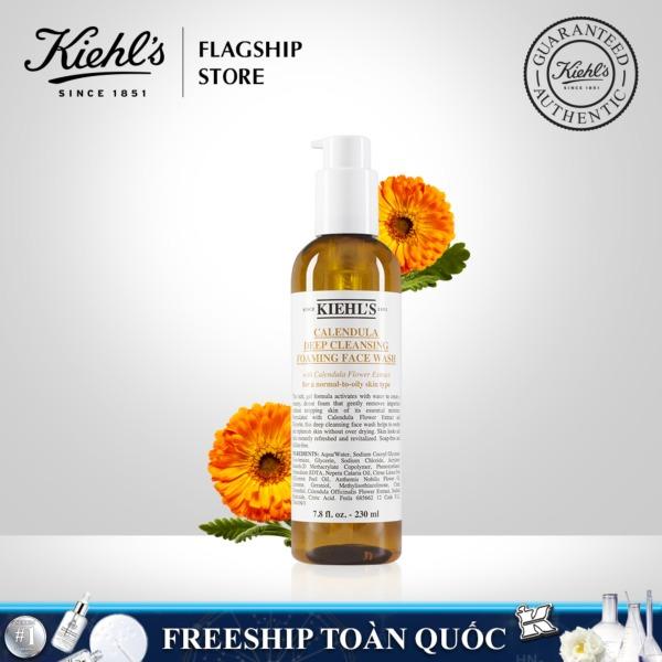 Sữa Rửa Mặt Hoa Cúc Kiehls Calendula Deep Cleansing Foaming Face Wash 230ml tốt nhất