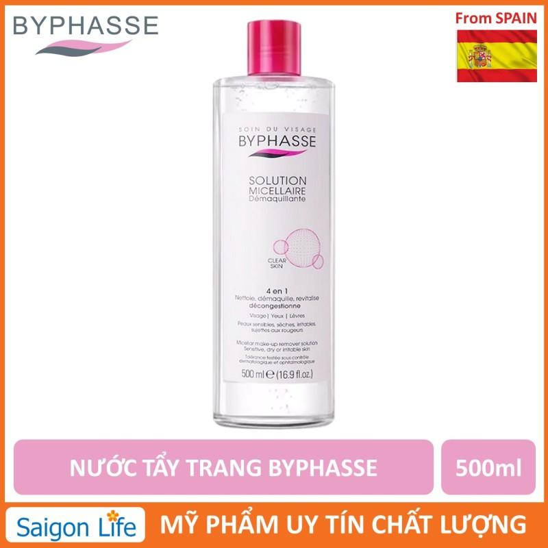 Nước Tẩy Trang Byphasse Micellar Make-up Remover Solution 500ml nhập khẩu