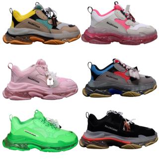 Giày nam nữ sneaker thể thao Ba.Len.cia.ga đế khí đế tách phân tầng chuẩn chữ thumbnail