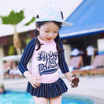 Giá bán Đồ bới bé gái 2 mảnh áo dài tay B104