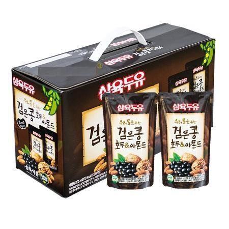 Voucher Ưu Đãi Sữa óc Chó Hạnh Nhân Hàn Quốc -  Thùng 20 Gói/thùng 195ml