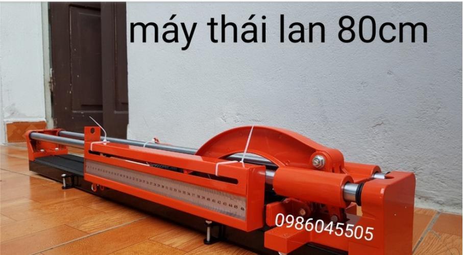 Máy cắt gạch tay đẩy HIKARI Thái Lan HK 8800H đỏ