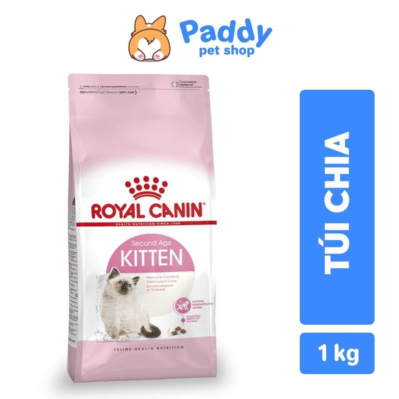[Túi chia] Royal Canin Kitten Thức ăn hạt cho mèo con - 1kg (túi chia)