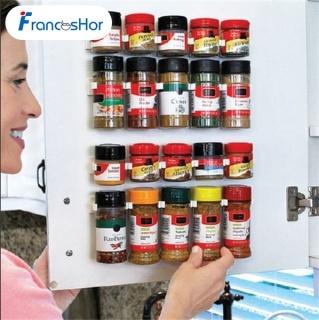 Frances Doorhook Kitchen Cabinet Door Hooks Spice Wall Rack Storage thumbnail