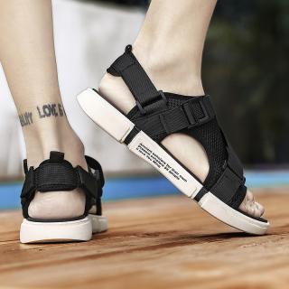 Dép sandal (xăng-đan) quai LƯỚI đế chữ unisex học sinh thời trang phong cách Hàn Quốc cực TGG68-03 7