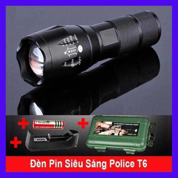 Bảng giá Đèn Pin Sạc Điện Cầm Tay 2 Trong 1 Tiross TS689, Bảo Hành 12 Tháng