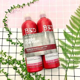 Bộ gội xả Tigi Bed Head (dòng màu đỏ cho tóc hư tổn cấp độ 3) thumbnail