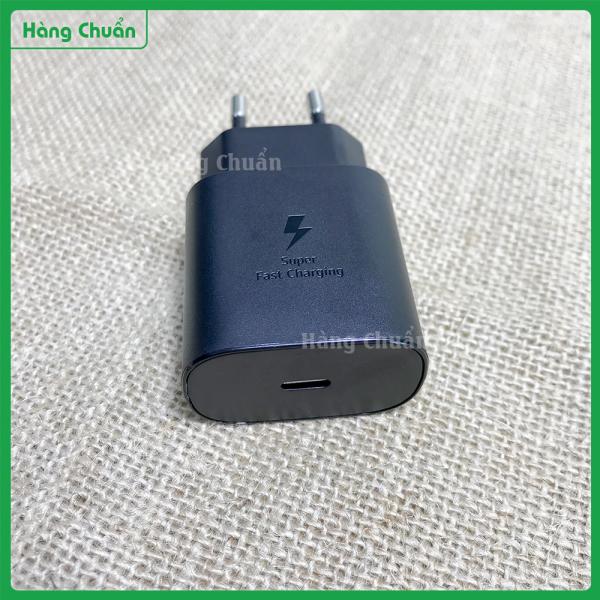 Hàng Chuẩn - Củ sạc Samsung zin chính hãng 25w - Chuẩn PD chính hãng Type C - Sạc nhanh được cho Iphone 8, XR, XSM, 11, 12, Note 10, S20, Note 20