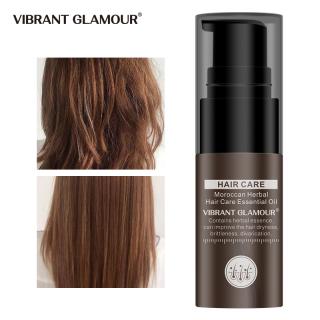 VIBRANT GLAMOUR Dầu Argan Ma-rốc Tinh dầu dưỡng tóc Dưỡng tóc Nuôi dưỡng Keratin Sửa Tóc hư tổn khô cho Da đầu Khô với 100% tinh dầu nguyên chất Chăm sóc tóc xoăn 20ml thumbnail