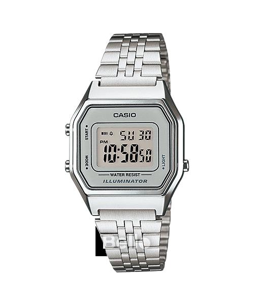 Đồng hồ Casio Nữ LA680WA-7 bảo hành chính hãng 1 năm - Pin trọn đời