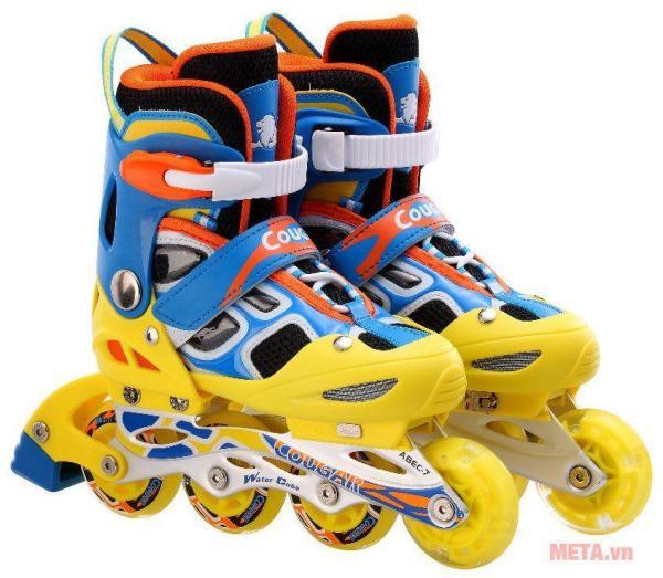 Giá bán Giầy trượt Patin có đèn 835LSG thể thao nhiều màu