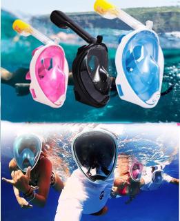Kính Bơi Giá Rẻ, Thiết Bị Lặn Biển , Mặt Lạ Bơi Lặn Cao Cấp, Kính Lặn Có Ống Thở thumbnail