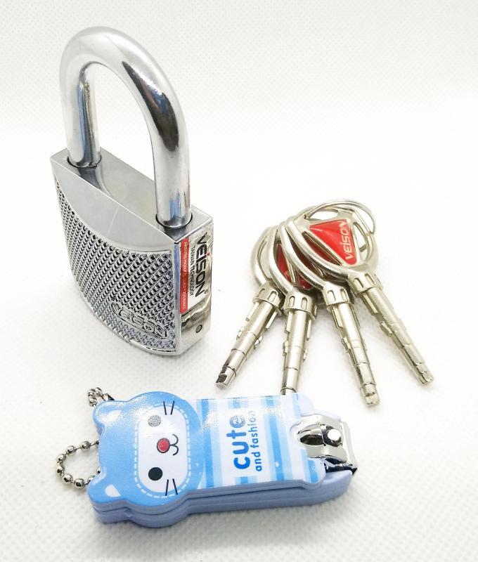 Ổ khóa cửa veison ZA17 - bảo hành 12 tháng - tặng bấm móng tay hình thú dễ thương