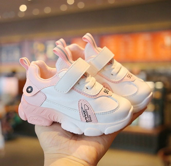 Giày trẻ em đẹp số 8 siêu nhẹ, chống trơn trượt tốt dành cho bé trai và bé gái từ 1-7 tuổi giá rẻ