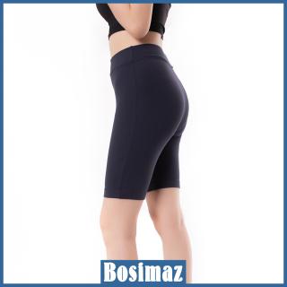 [HCM]Quần Legging Nữ Bosimaz MS352 ngắn không túi màu xanh navy cao cấp thun co giãn 4 chiều vải đẹp dày thoáng mát không xù lông. thumbnail