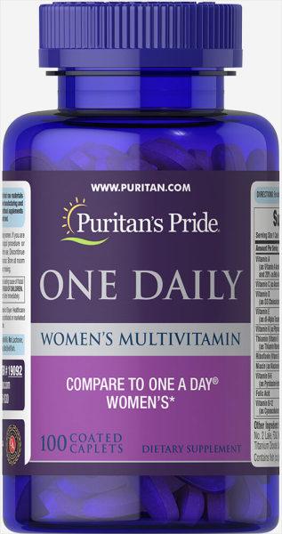 Puritans Pride One Daily Womens Multivitamin 100 viên