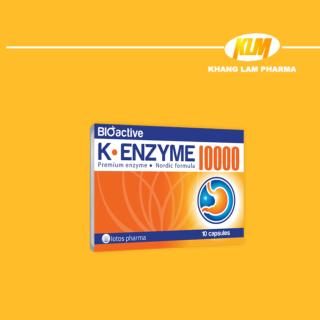 K-Enzyme 10000 - Tăng cường sức khỏe hệ tiêu hóa thumbnail