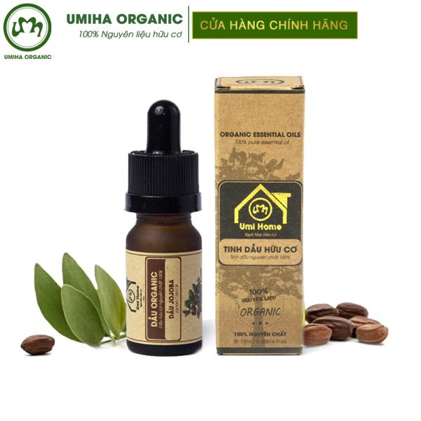 Dầu Jojoba hữu cơ UMIHOME nguyên chất - Dưỡng sáng da, cân bằng độ ẩm da, chống oxi hóa lão hóa, nếp nhăn, ngừa thâm mụn cao cấp