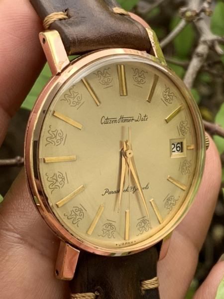 Đồng hồ nam CITIZEN HOMER DATE - Nhật Bản