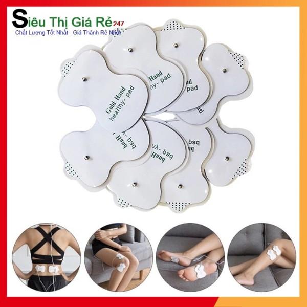 Bộ 24 miếng dán massage xung điện rẻ, bền dành cho máy massage vật lý trị liệu ( miếng dán mát xa )